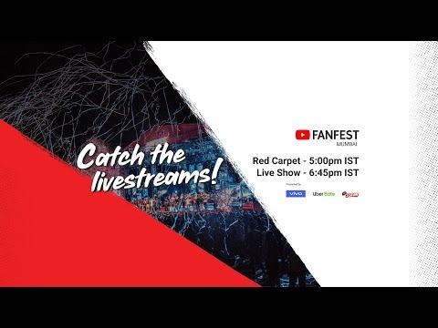 youtube-fanfest-mumbai-2019---red-carpet-livestream