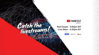 YouTube FanFest Mumbai 2019 - Red Carpet Livestream