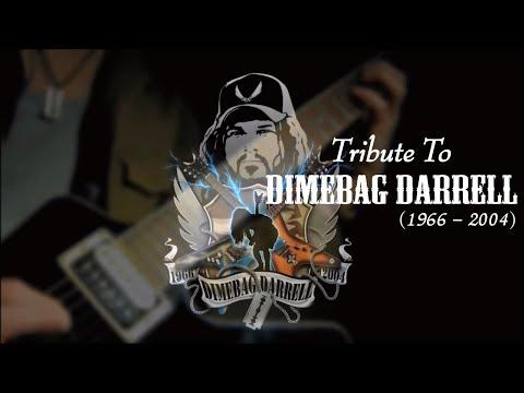 Tribute to Dimebag Darrell / Pantera  :by Gaku
