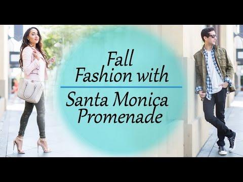 Men & Women Fall Fashion w/ Santa Monica Promenade | Elizabeth Keene