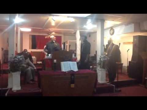 Milton Matthews Preach his first Sermon