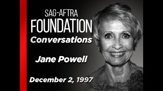 Conversations with Jane Powell