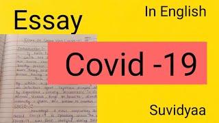 Essay (English) On COVID-19 Corona Virus