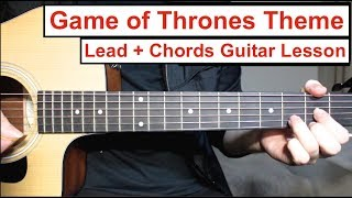 Game of Thrones - Theme | Guitar Lesson How to play Lead Guita…