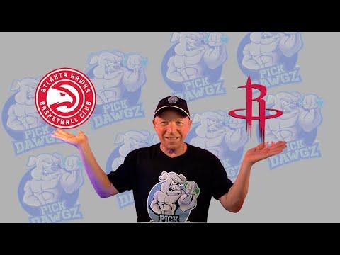 Houston Rockets vs Atlanta Hawks 3/16/21 Free NBA Pick and Prediction NBA Betting Tips
