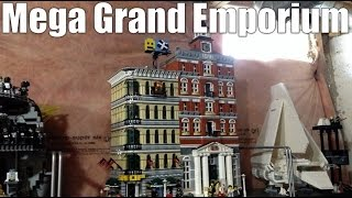 Combining Two Lego Modular Buildings - Grand Emporium Expanded – 10211