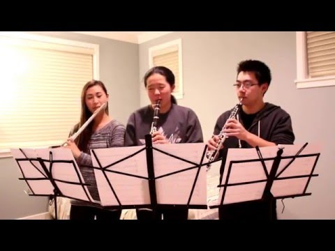 Aladdin ~ A Whole New World Flute, Clarinet, and Oboe  ft Thomas