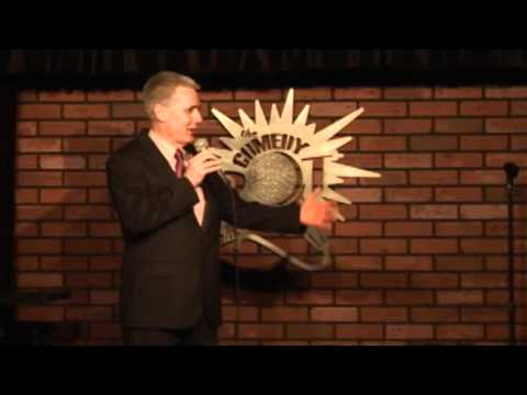 Rick Robinson comedy teenage daughter and politics