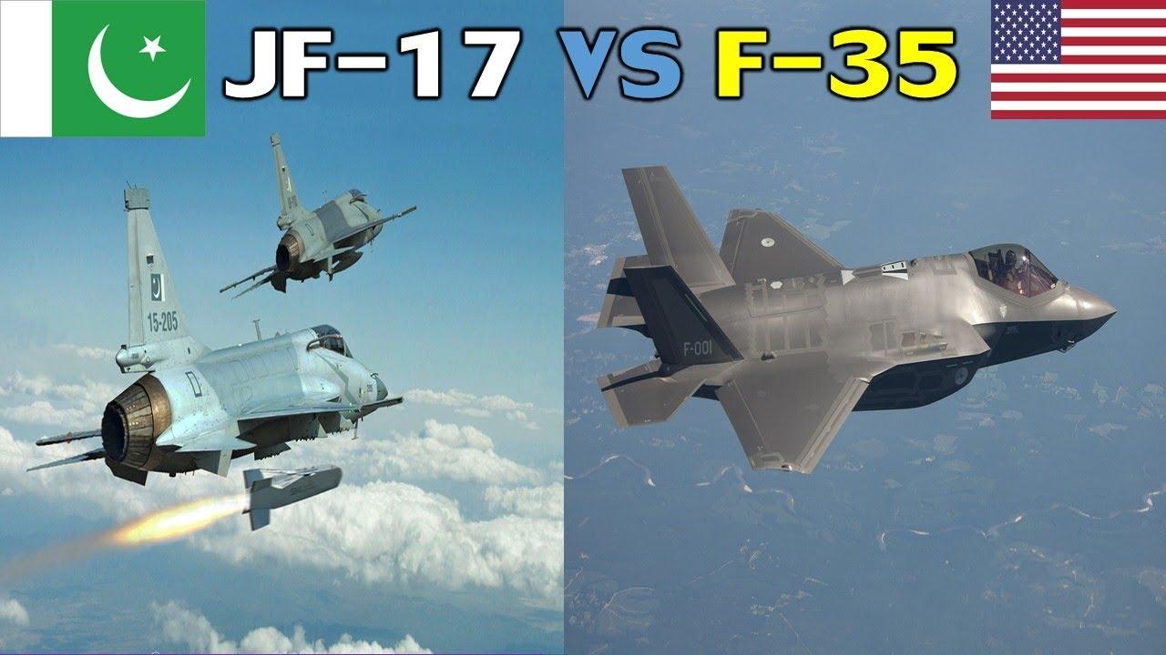Pakistan JF-17 Thunder Block 3 VS USA F-35 Stealth