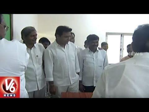 Minister KTR Inaugurates Agriculture Polytechnic College At Sardapur Village | Rajanna Sircilla | V6