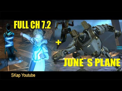 Shadow Fight 3 - Chapter 7.2 FULL(cinematic & STORYLINE) + JUNE`S PLANE