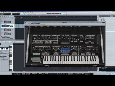 YMO cosmic surfin'  (PolyM software synthesizer) cover
