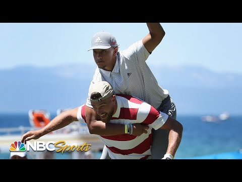 Patrick Mahomes, Steph Curry Highlight Best Of American Century Championship (2020) | NBC Sports