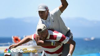Patrick Mahomes, Steph Curry highlight best of American Century Championship (2020)