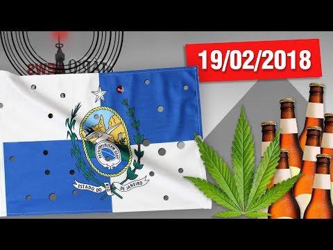 Intervenção no Rio, Mineração de Asteroides, Álcool x Cannabis e Exclusividade de Neymar