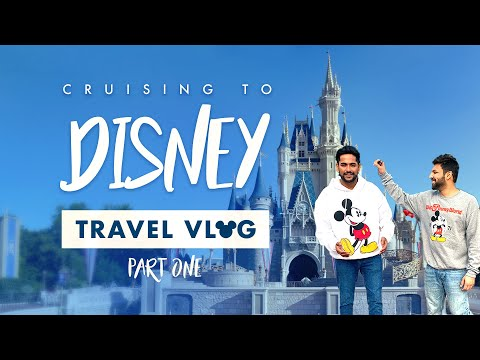 Gay Couple Travel VLOG | Cruising To Disney & Bahamas (PART 1)