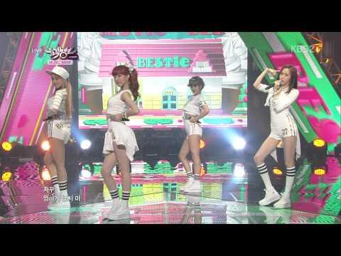 130719 BESTie - Pitapat @ Music Bank [1080p]