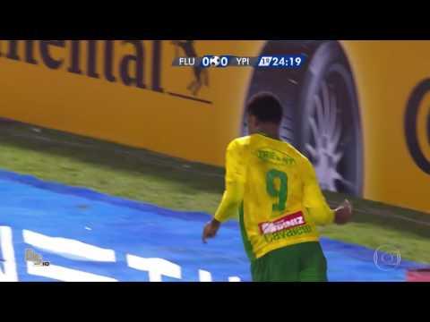 Gols fluminense 1x1 ypiranga - copa do Brasil 2016
