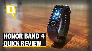 Honor Band 4 Quick Review | The Quint
