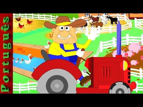Old MacDonald tinha uma fazenda | rima de berçário