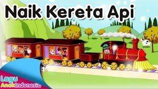 NAIK KERETA API | Lagu Anak Indonesia