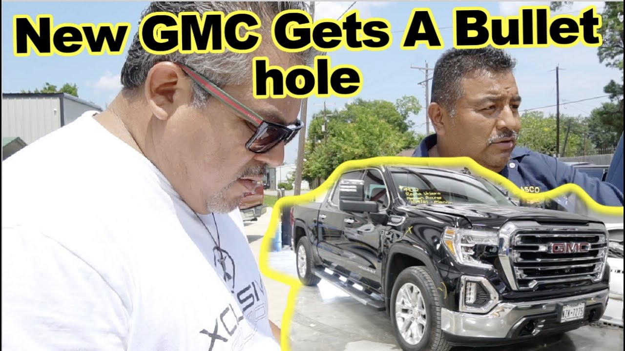Download Xclusive Collision - Truck GMC Gets Damaged By A Gun Shot !!!  EP: 5
