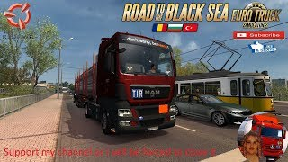 Euro Truck Simulator 2 (1.36)   MAN TGX by MadSter Ia?i to Gala?i Romania Road to the Black Sea by SCS Software Schwarzmuller Trailer DLC by SCS + DLC's & Mods  Support me please thanks Support me economically at the mail vanelli.isabella@gmail.com  Roadh