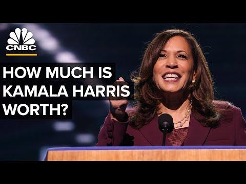 How Much Is Kamala Harris Worth?
