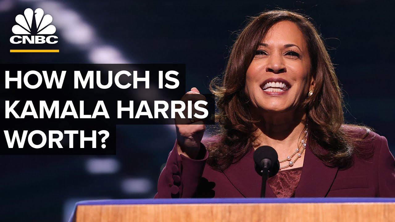 How Much Is Kamala Harris Worth