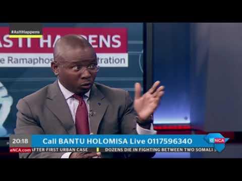 UDM leader Bantu Holomisa presents As It Happens on eNCA. Part 2