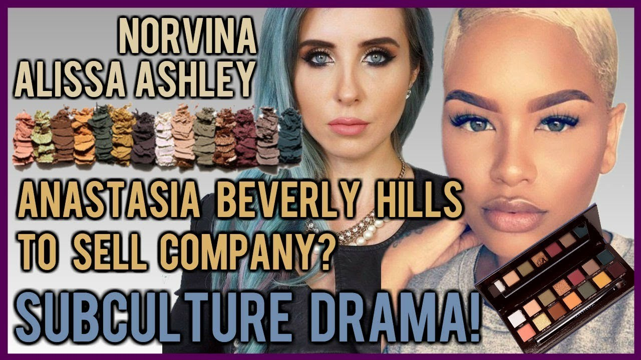 ANASTASIA BEVERLY HILLS TO SELL COMPANY? SUBCULTURE PALETTE DRAMA! ALISSA'S  STATEMENT INCLUDED!