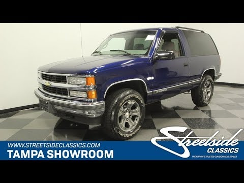 1999 Chevrolet Tahoe 4×4 for sale | 1459-TPA