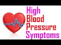 How To Know Early Signs Of High Blood Pressure | Symptoms Of High Blood Pressure