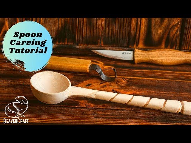 Wooden Spoon Carving I Easy Wood Carving for Beginners