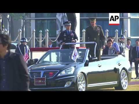US Joint Chiefs chair meets SKorean counterpart in Seoul
