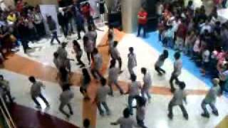R City Flash mob_21 Jan