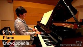 ザウアー: 4つのピアノ曲 3. 夕べの歌 Pf.中川京子:Nakagawa,Kyoko