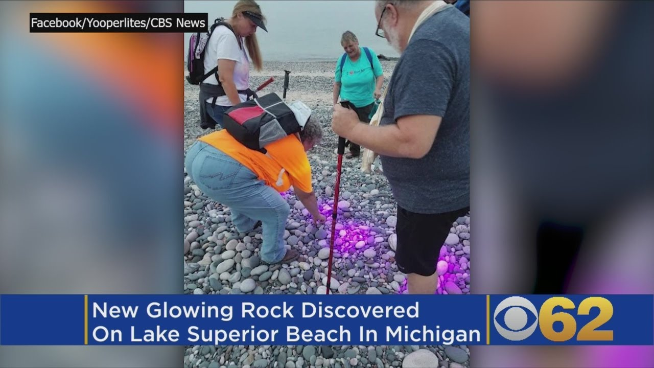 Michigan Man Credited With Discovering Florescent Glow Rocks Called, 'Yooperlights'