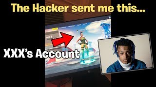 What REALLY happened to XXXTENTACION's Fortnite Account.. (INTERVIEW)