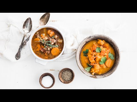 Instant Pot Soups: Beef and Barley & Thai Curry