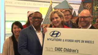 CHOC Children's Hospital Holiday Event 2016