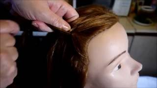 ВОДОПАД.Плетение косы водопад.Видео-урок