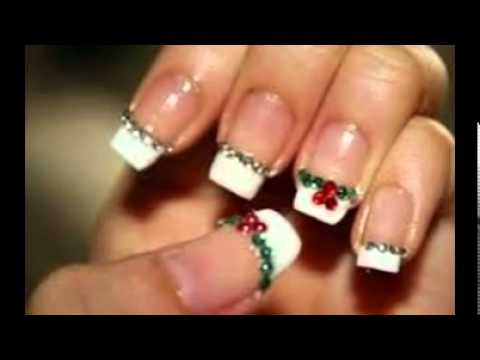 Christmas Nail Art Gallery - YouTube