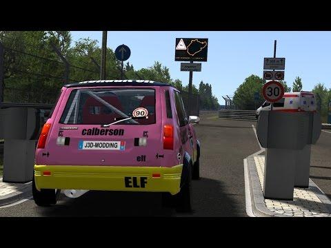 110CV Renault 5 Alpine Gr2 Vs Nordschleife Tourist