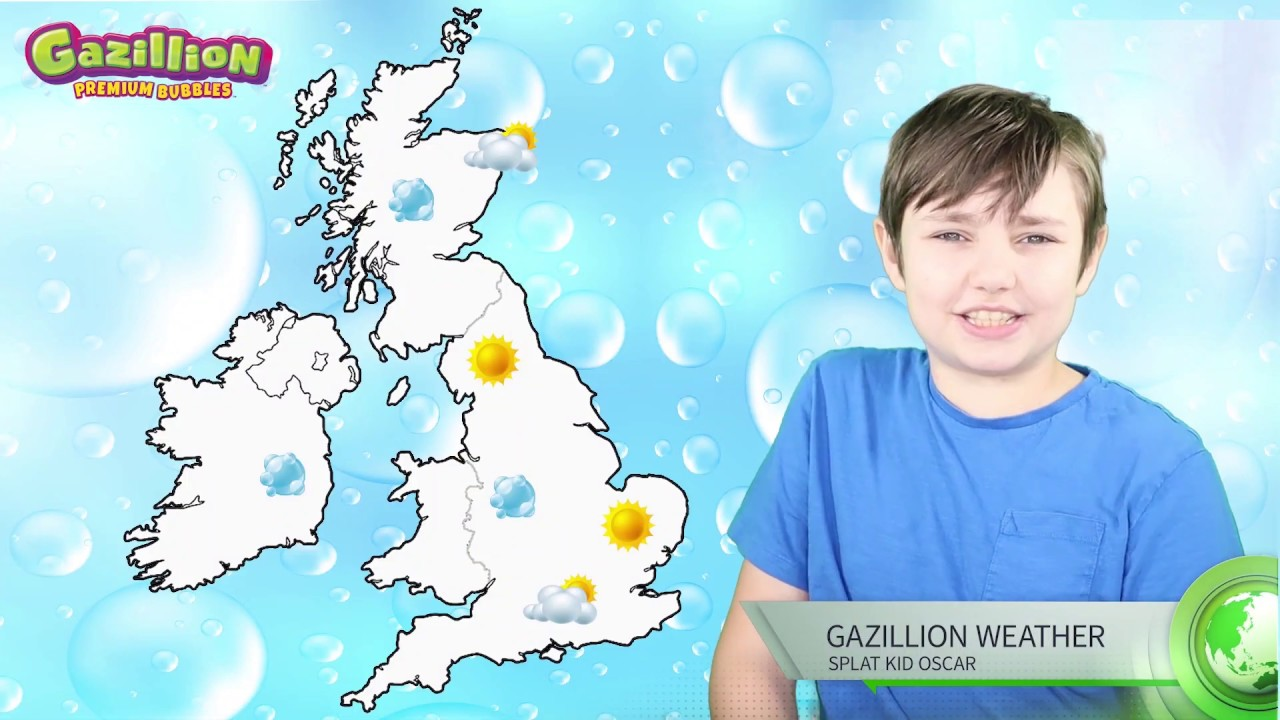 Gazillion Weather Report - Have fun with bubbles!