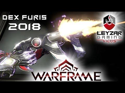 Dex Furis Build 2018 (Guide) - The Blazing Bullet Storm (Warframe Gameplay)