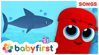 Baby Shark Song Compilation | Kids Songs & Popular Nursery Rhymes With Color Crew Babies | BabyFirst
