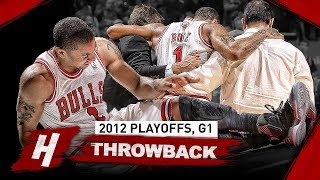 The Game That Ruined Derrick Rose's Career! Full Game 1 Highlights vs 76ers (2012 Playoffs)