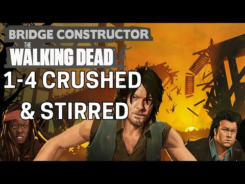 Guide: Bridge Constructor: TWD - 1-4 Crushed and Stirred Solution | Pure Play TV |