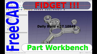 FreeCAD Tutorial - Design a Fidget Spinner